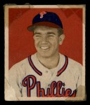 1949 Bowman #92   Willie Jones Front Thumbnail