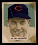 1949 Bowman #192  Harry Gumbert  Front Thumbnail