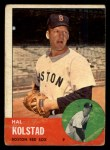 1963 Topps #574   Hal Kolstad Front Thumbnail