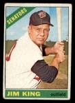 1966 Topps #369   Jim King Front Thumbnail