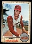 1968 Topps #35   Steve Hargan Front Thumbnail