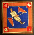 1914 B18 Blankets #26 BLU Roger Peckinpaugh   Back Thumbnail