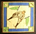 1914 B18 Blankets #55   Bart Whaling  Back Thumbnail