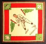 1914 B18 Blankets #38   Eddie Ainsmith Front Thumbnail