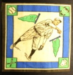 1914 B18 Blankets #54   Lefty Tyler  Back Thumbnail