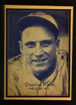 1931 W517 #10   Chuck Klein Front Thumbnail