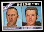 1966 Topps #84  Braves Rookies  -  Jim Beauchamp / Dick Kelley Front Thumbnail