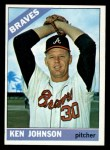1966 Topps #466  Ken Johnson  Front Thumbnail