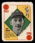 1951 Topps Red Back #21   Larry Jansen Front Thumbnail