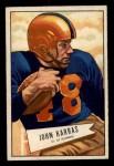 1952 Bowman Small #24  John Karras  Front Thumbnail