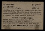 1952 Bowman Small #34  Al Pollard  Back Thumbnail