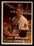 1957 Topps #79  Lindy McDaniel  Front Thumbnail