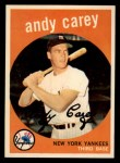 1959 Topps #45   Andy Carey Front Thumbnail