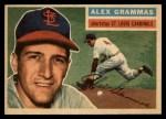 1956 Topps #37   Alex Grammas Front Thumbnail