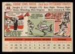 1956 Topps #46   Gene Freese Back Thumbnail