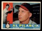 1960 Topps #498   Al Pilarcik Front Thumbnail