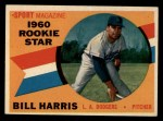 1960 Topps #128  Rookie Stars  -  Bill Harris Front Thumbnail