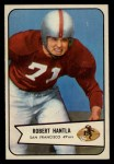 1954 Bowman #66   Bob Hantla Front Thumbnail