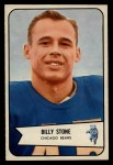 1954 Bowman #106   Billy Stone Front Thumbnail