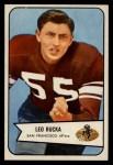 1954 Bowman #18  Leo Rucka  Front Thumbnail