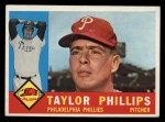 1960 Topps #211   Taylor Phillips Front Thumbnail