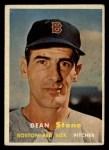1957 Topps #381  Dean Stone  Front Thumbnail