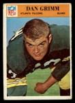 1966 Philadelphia #5  Dan Grimm  Front Thumbnail