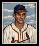 1950 Bowman #125   Del Rice Front Thumbnail