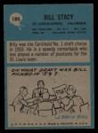 1964 Philadelphia #180   Bill Stacy Back Thumbnail