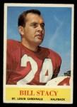 1964 Philadelphia #180   Bill Stacy Front Thumbnail