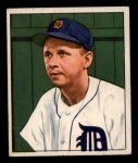 1950 Bowman #212   Jerry Priddy Front Thumbnail