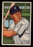 1952 Bowman #161   Jackie Jensen Front Thumbnail