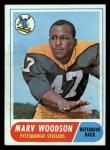 1968 Topps #137  Marv Woodson  Front Thumbnail