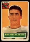 1956 Topps #16  Hal Giancanelli  Front Thumbnail