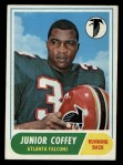1968 Topps #21   Junior Coffey Front Thumbnail