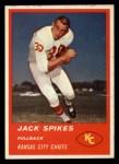 1963 Fleer #46  Jack Spikes  Front Thumbnail