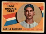 1960 Topps #121  Rookies  -  Camilo Carreon Front Thumbnail