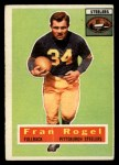 1956 Topps #15  Fran Rogel  Front Thumbnail