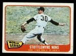 1965 Topps #133  1964 World Series - Game #2 - Stottlemyre Wins  -  Mel Stottlemyre Front Thumbnail
