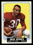 1964 Topps #106   Jack Spikes Front Thumbnail