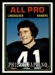 1974 Topps #139  All-Pro  -  Phil Villapiano  Front Thumbnail