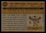 1960 Topps #356  Joe Amalfitano  Back Thumbnail
