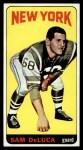 1965 Topps #113   Sam DeLuca Front Thumbnail