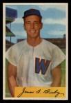 1954 Bowman #8   Jim Busby Front Thumbnail