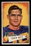1952 Bowman Small #56   Tobin Rote Front Thumbnail
