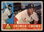 1960 Topps #419   George Crowe Front Thumbnail
