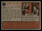 1962 Topps #70   Harmon Killebrew Back Thumbnail