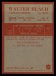 1965 Philadelphia #30  Walter Beach  Back Thumbnail