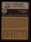 1973 Topps #391   Lee Lacy Back Thumbnail