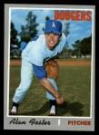 1970 Topps #369  Alan Foster  Front Thumbnail